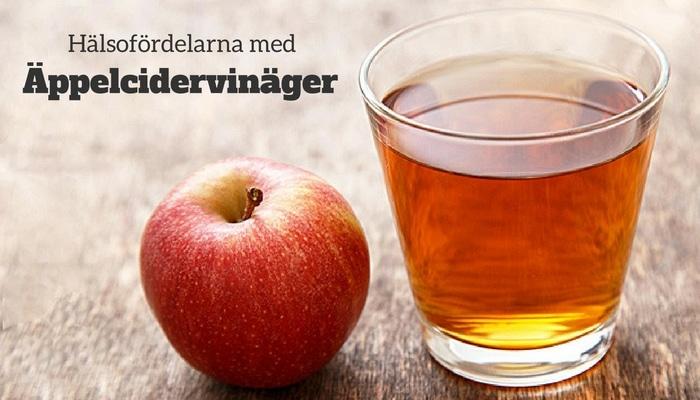 Hälsofördelarna med äppelcidervinäger
