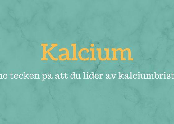 10 symtom på kalciumbrist och orsakerna bakom det