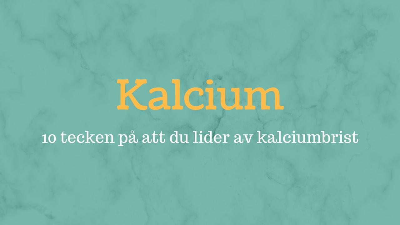 kalciumbrist